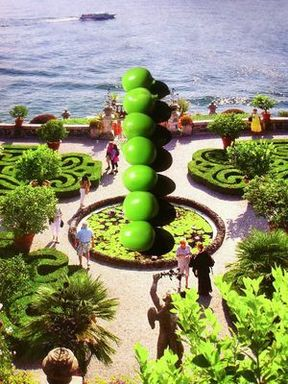 Nina Katchadourian (American, born 1968). <em>Topiary</em>, 2012. Chromogenic photograph, sheet: 45 1/2 x 35 1/2 in. (115.6 x 90.2 cm). Brooklyn Museum, Gift of the artist and Catharine Clark Gallery, San Francisco in honor of Arnold Lehman, 2014.112. © artist or artist's estate (Photo: Brooklyn Museum, CUR.2014.112_RH_photograph.jpg)
