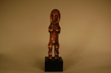 Lega. <em>Figure of Female (Iginga)</em>, early 20th century. Ivory, height: 6 5/16 in. (16 cm). Brooklyn Museum, Gift in memory of Frederic Zeller, 2014.54.27 (Photo: Brooklyn Museum, CUR.2014.54.27_overall.jpg)