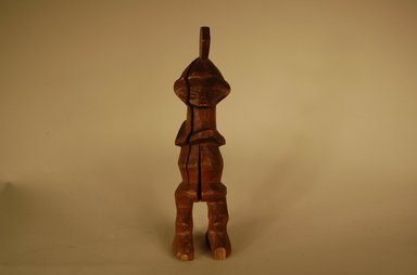 Pindi. <em>Figure</em>, 20th century. Wood, 8 1/4 x 1 15/16 x 2 3/16 in. (21 x 5 x 5.5 cm). Brooklyn Museum, Gift in memory of Frederic Zeller, 2014.54.52 (Photo: Brooklyn Museum, CUR.2014.54.52_overall.jpg)