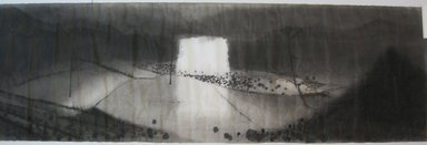 Shen Qin (Chinese). <em>Village</em>, 2014. Ink on paper Brooklyn Museum, Gift of Shen Qin in honor of Liu Dan, 2015.71. © artist or artist's estate (Photo: Brooklyn Museum, CUR.2015.71.jpg)