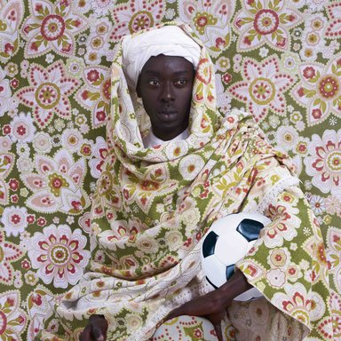 Omar Victor Diop (Senegalese, born 1980). <em>El Moro</em>, 2014. Inkjet print, 23 5/8 x 23 5/8 in. (59.9 x 59.9 cm). Brooklyn Museum, William K. Jacobs, Jr. Fund, 2015.72.2. © artist or artist's estate (Photo: image courtesy of Magnin-A, CUR.2015.72.2_Magnin-A_photograph.jpg)