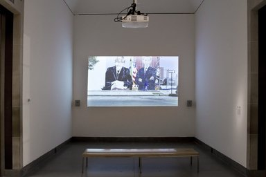Steffani Jemison (American, born 1981). <em>Personal</em>, 2014. Digital video projection, color, sound, TRT, 6 minutes 45 seconds