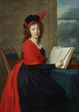 Elisabeth Louise Vigée Le Brun (French, 1755-1842). <em>Portrait of Countess Maria Theresia Czernin</em>, 1793. Oil on canvas, 54 × 39 in. (137.2 × 99.1 cm). Brooklyn Museum, Gift of Lilla Brown in memory of her husband, John W. Brown, Mrs. Watson B. Dickerman, A. Augustus Healy, Helen Babbott MacDonald, Charles H. Schieren, and L.L. Themal, by exchange  , 2018.53 (Photo: , CUR.2018.53.jpg)