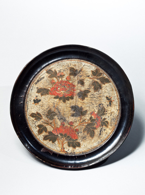 <em>Footed Tray</em>, 17th-18th century. Lacquered wood, height: 4 1/4 in. (10.8 cm). Brooklyn Museum, Gift of Nicholas Grindley, 2019.8.3 (Photo: , CUR.2019.8.3.jpg)