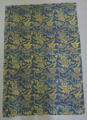 <em>Textile Fragment</em>, early 18th or 19th century. Linen, 30 x 45 1/2 in. (76.2 x 115.6 cm). Brooklyn Museum, 21.434.145A (Photo: Brooklyn Museum, CUR.21.434.145a.jpg)