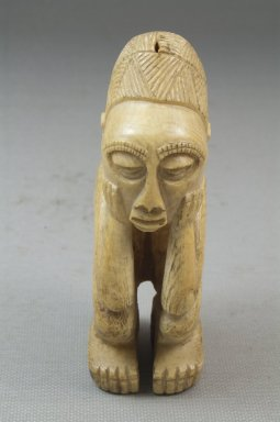 <em>Image of Man</em>. Ivory Brooklyn Museum, Museum Expedition 1922, Robert B. Woodward Memorial Fund, 22.1258. Creative Commons-BY (Photo: Brooklyn Museum, CUR.22.1258_front_PS5.jpg)
