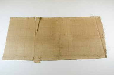 <em>Raffia Cloth</em>, 19th century. Raffia, 75.0 x 36.0 cm. Brooklyn Museum, Museum Expedition 1922, Robert B. Woodward Memorial Fund, 22.1550. Creative Commons-BY (Photo: Brooklyn Museum, CUR.22.1550_top_PS5.jpg)
