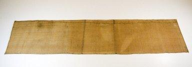 <em>Raffia Cloth</em>, 19th century. Raffia, 167.0 x 37.0 cm. Brooklyn Museum, Museum Expedition 1922, Robert B. Woodward Memorial Fund, 22.1638. Creative Commons-BY (Photo: Brooklyn Museum, CUR.22.1638_top_PS5.jpg)