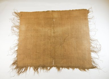 Mbuun. <em>Raffia Cloth</em>, 19th century., 26 1/2 x 35 in. (56.0 x 62.0 cm). Brooklyn Museum, Museum Expedition 1922, Robert B. Woodward Memorial Fund, 22.1660. Creative Commons-BY (Photo: Brooklyn Museum, CUR.22.1660_top_PS5.jpg)