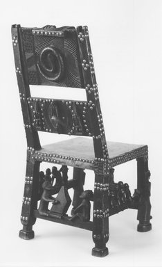 Chokwe. U003cemu003eCeremonial Seat (ngundja)u003c/emu003e, 19th