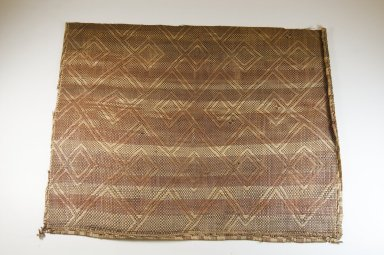 Kongo. <em>Mat</em>, 19th century. Rattan, 27 9/16 x 22 1/16 in. (70 x 56 cm). Brooklyn Museum, Brooklyn Museum Collection, 22.1930. Creative Commons-BY (Photo: Brooklyn Museum, CUR.22.1930_top_PS5.jpg)
