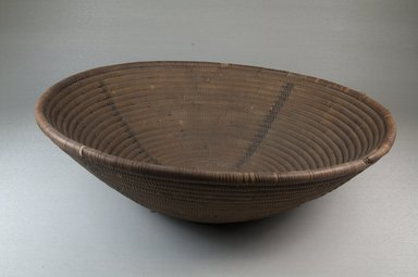 <em>Basket</em>, late 19th-early 20th century. Vegetal fiber, height: (9.0 cm). Brooklyn Museum, Museum Expedition 1922, Robert B. Woodward Memorial Fund, 22.1944. Creative Commons-BY (Photo: Brooklyn Museum, CUR.22.1944_front_PS5.jpg)