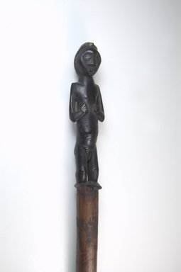 Possibly Mbala. <em>Stave</em>, late 19th-early 20th century. Wood, 1 5/8 x 41 1/8 in. (4.1 x 104.5 cm). Brooklyn Museum, Museum Expedition 1922, Robert B. Woodward Memorial Fund, 22.209. Creative Commons-BY (Photo: Brooklyn Museum, CUR.22.209_front_PS5.jpg)