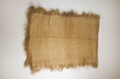 Possibly Kuba. <em>Raffia Cloth</em>, 19th century. Raffia, 120.0 x 37.0 cm. Brooklyn Museum, Museum Expedition 1922, Robert B. Woodward Memorial Fund, 22.469.35. Creative Commons-BY (Photo: Brooklyn Museum, CUR.22.469.35_top_PS5.jpg)