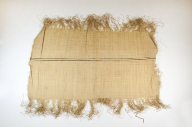Possibly Kuba. <em>Raffia Cloth</em>, 19th century. Raffia, 23 1/4 x 13 3/8 in. (59.0 x 34.0 cm). Brooklyn Museum, Museum Expedition 1922, Robert B. Woodward Memorial Fund, 22.469.51. Creative Commons-BY (Photo: Brooklyn Museum, CUR.22.469.51_top_PS5.jpg)