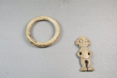 <em>Bracelet, Figure Attached</em>. Ivory Brooklyn Museum, Museum Expedition 1922, Robert B. Woodward Memorial Fund, 22.624. Creative Commons-BY (Photo: Brooklyn Museum, CUR.22.624_top_PS5.jpg)