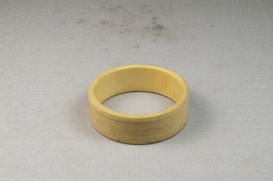 <em>Bracelet</em>. Ivory Brooklyn Museum, Museum Expedition 1922, Robert B. Woodward Memorial Fund, 22.631. Creative Commons-BY (Photo: Brooklyn Museum, CUR.22.631_front_PS5.jpg)