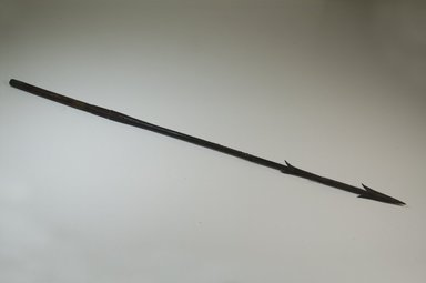 <em>Spear</em>. Iron, 32 11/16 x 1 3/4 in. (83 x 4.5 cm). Brooklyn Museum, Museum Expedition 1922, Robert B. Woodward Memorial Fund, 22.984. Creative Commons-BY (Photo: Brooklyn Museum, CUR.22.984_threequarter_PS5.jpg)