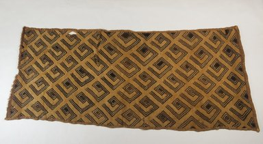 Kuba (Bushoong subgroup). <em>Raffia Cloth</em>, 19th century., 27 5/8 x 12 1/2 in. (70.0 x 32.0 cm). Brooklyn Museum, Museum Expedition 1922, Robert B. Woodward Memorial Fund, 22.989. Creative Commons-BY (Photo: Brooklyn Museum, CUR.22.989_top_PS5.jpg)