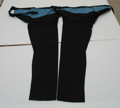 <em>Workman's Tight Breeches</em>, 20th century. Cotton, 43 11/16 x 41 3/4 in. (111 x 106 cm). Brooklyn Museum, Gift of Mrs. Allan Cowperthwait, 25.763. Creative Commons-BY (Photo: Brooklyn Museum, CUR.25.763.jpg)