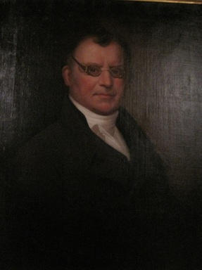 Ezra Ames (American, 1768-1836). <em>Phares Gould</em>, ca. 1830-1835. Oil on canvas, 30 1/16 x 24 in. (76.3 x 61 cm). Brooklyn Museum, Carll H. de Silver Fund, 25.806 (Photo: Brooklyn Museum, CUR.25.806.jpg)