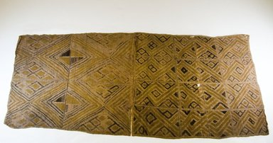 Kuba. <em>Raffia Cloth</em>. Embroidered Raffia cloth Brooklyn Museum, 26538. Creative Commons-BY (Photo: Brooklyn Museum, CUR.26538_top_PS5.jpg)