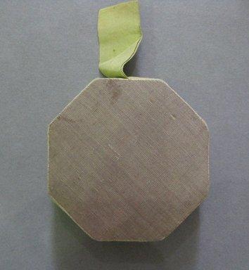 <em>Pin Cushion</em>, late 19th century. Silk, 2 1/2 x 2 1/2 in. (6.4 x 6.4 cm). Brooklyn Museum, 27.184.2 (Photo: Brooklyn Museum, CUR.27.184.2.jpg)