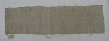 <em>Textile</em>. Printed textile, 3 15/16 x 14 in. (10 x 35.5 cm). Brooklyn Museum, 27283. Creative Commons-BY (Photo: Brooklyn Museum, CUR.27283.jpg)