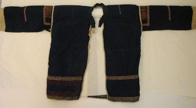 Loi. <em>Jacket</em>., 49 3/16 x 21 1/4 in. (125 x 54 cm). Brooklyn Museum, Robert B. Woodward Memorial Fund, 27329. Creative Commons-BY (Photo: Brooklyn Museum, CUR.27329_front.jpg)