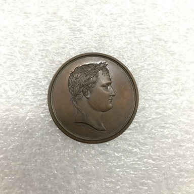 Unknown. <em>Medal</em>. Bronze, diameter: 1 5/16 in. (3.4 cm). Brooklyn Museum, Bequest of Marion Reilly, 29.1410. Creative Commons-BY (Photo: , CUR.29.1410_front.jpg)