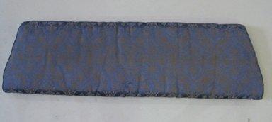<em>Seat Cushion</em>, early 20th century. Silk, batting, 2 1/4 x 13 1/4 x 46 1/4 in. (5.7 x 33.7 x 117.5 cm). Brooklyn Museum, 29.1535.3. Creative Commons-BY (Photo: Brooklyn Museum, CUR.29.1535.3.jpg)