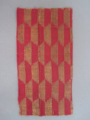 <em>Textile Fragment</em>, 15th century. Silk, 2 1/2 x 5 in. (6.4 x 12.7 cm). Brooklyn Museum, Gift of Jennie Brownscombe, 29.1622 (Photo: Brooklyn Museum, CUR.29.1622.jpg)