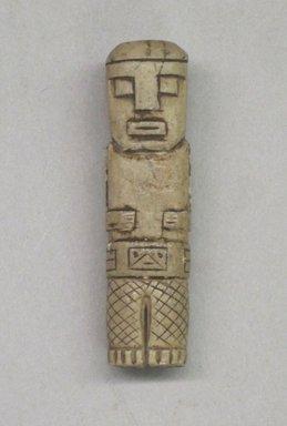 Possibly Tiwanaku. <em>Figurine</em>, ca. 400-1000. Stone, 1 3/4 x 3/8 x 3/8 in. (4.4 x 1 x 1 cm). Brooklyn Museum, 29.423. Creative Commons-BY (Photo: Brooklyn Museum, CUR.29.423.jpg)