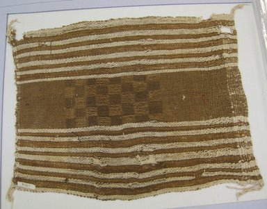 <em>Wrapping Cloth or Textile, Undetermined</em>, 1532-1700 or 1000-1400. Cotton, 17 11/16 x 22 1/16 in. (45 x 56 cm). Brooklyn Museum, Museum Collection Fund, 30.1063. Creative Commons-BY (Photo: Brooklyn Museum, CUR.30.1063.jpg)