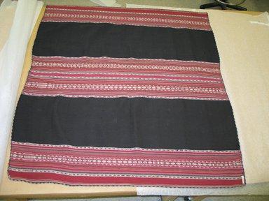 Aymara. <em>Shawl</em>, 19th century. Camelid fiber, 47 x 44 1/2 in. (119.4 x 113 cm). Brooklyn Museum, Alfred T. White Fund, 30.1165.14. Creative Commons-BY (Photo: Brooklyn Museum, CUR.30.1165.14.jpg)
