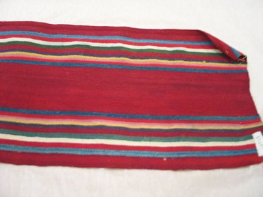Aymara. <em>Belt</em>, early 20th century. Camelid fiber, 7 3/4 x 66 in. (19.7 x 167.6 cm). Brooklyn Museum, Alfred T. White Fund, 30.1165.17. Creative Commons-BY (Photo: Brooklyn Museum, CUR.30.1165.17.jpg)