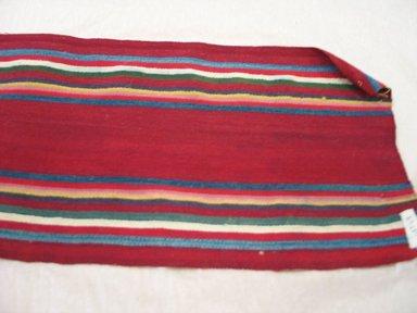 Aymara. <em>Belt</em>, early 20th century. Camelid fiber, 7 3/4 x 66 in. (19.7 x 167.6 cm). Brooklyn Museum, Alfred T. White Fund, 30.1165.17. Creative Commons-BY (Photo: Brooklyn Museum, CUR.30.1165.17.jpg)