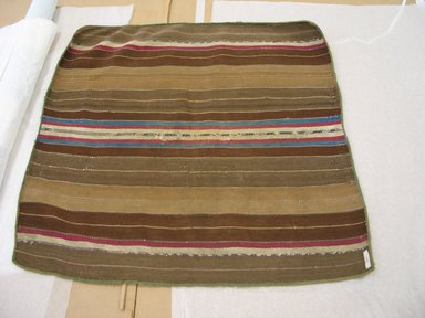 Aymara. <em>Carrying Cloth</em>, 20th century. Camelid fiber, 27 3/4 x 29 1/2 in. (70.5 x 74.9 cm). Brooklyn Museum, Alfred T. White Fund, 30.1165.19. Creative Commons-BY (Photo: Brooklyn Museum, CUR.30.1165.19.jpg)