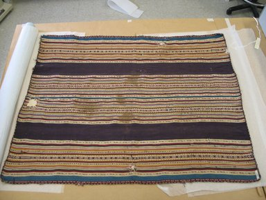 Aymara. <em>Shawl</em>, 18th or 19th century. Camelid fiber, 33 x 43 in. (83.8 x 109.2 cm). Brooklyn Museum, Alfred T. White Fund, 30.1165.24. Creative Commons-BY (Photo: Brooklyn Museum, CUR.30.1165.24.jpg)