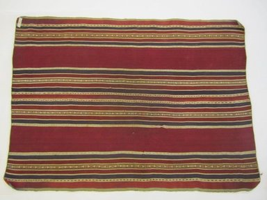 Aymara. <em>Shawl</em>, 19th century. Camelid fiber, 25 1/2 x 35 in. (64.8 x 88.9 cm). Brooklyn Museum, Alfred T. White Fund, 30.1165.25. Creative Commons-BY (Photo: Brooklyn Museum, CUR.30.1165.25_view02.jpg)