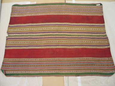 Aymara. <em>Shawl</em>, early 20th century. Camelid, 29 x 36 in. (73.7 x 91.4 cm). Brooklyn Museum, Alfred T. White Fund, 30.1165.32. Creative Commons-BY (Photo: Brooklyn Museum, CUR.30.1165.32.jpg)