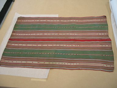 Aymara. <em>Shawl</em>, 19th century. Camelid fiber, 20 x 32 in. (50.8 x 81.3 cm). Brooklyn Museum, Alfred T. White Fund, 30.1165.7. Creative Commons-BY (Photo: Brooklyn Museum, CUR.30.1165.7.jpg)