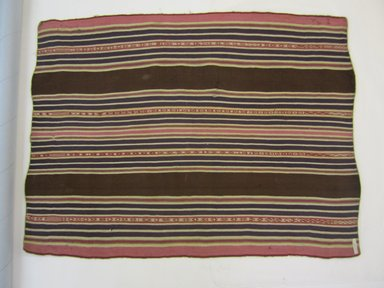 Aymara. <em>Shawl</em>, 19th century. Camelid fiber, 27 x 36 3/8 in. (68.6 x 92.4 cm). Brooklyn Museum, Alfred T. White Fund, 30.1165.8. Creative Commons-BY (Photo: Brooklyn Museum, CUR.30.1165.8_view02.jpg)