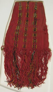Inca/Moquegua. <em>Bag</em>, 1000-1532 (?). Camelid fiber, cotton, 26 3/4 x 13 3/8 in. (68 x 34 cm). Brooklyn Museum, Gift of George D. Pratt, 30.1204. Creative Commons-BY (Photo: Brooklyn Museum, CUR.30.1204.jpg)