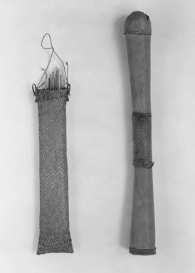Mangbetu. <em>26 Arrows and Shaft(s) for shooting monkeys and birds</em>. Reed Brooklyn Museum, Museum Expedition 1931, Robert B. Woodward Memorial Fund, 31.1830a-z. Creative Commons-BY (Photo: , CUR.30.1272_31.1782a_31.1782c_31.1782e_31.1830j_31.1830t_31.2034_31.2035a-f_print_bw.jpg)