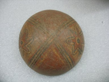 Mangbetu. <em>Bowl</em>. Wood, monkey fur Brooklyn Museum, Museum Expedition 1931, Robert B. Woodward Memorial Fund, 31.1796. Creative Commons-BY (Photo: Brooklyn Museum, CUR.31.1796_view1.jpg)