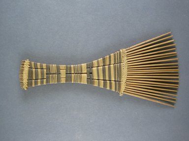 Pygmy. <em>Hair Comb</em>. Reed Brooklyn Museum, Museum Expedition 1931, Robert B. Woodward Memorial Fund, 31.1900. Creative Commons-BY (Photo: Brooklyn Museum, CUR.31.1900_view1.jpg)