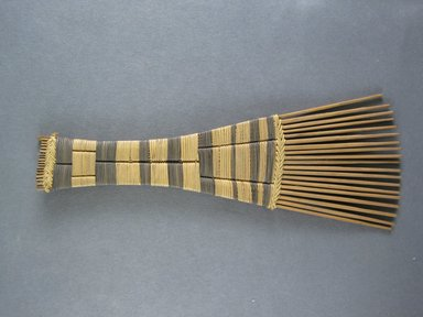 Mangbetu. <em>Hair Comb</em>. Reed Brooklyn Museum, Museum Expedition 1931, Robert B. Woodward Memorial Fund, 31.1902. Creative Commons-BY (Photo: Brooklyn Museum, CUR.31.1902_view1.jpg)
