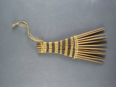 Mangbetu. <em>Hair Comb</em>. Reed Brooklyn Museum, Museum Expedition 1931, Robert B. Woodward Memorial Fund, 31.1903. Creative Commons-BY (Photo: Brooklyn Museum, CUR.31.1903_top.jpg)