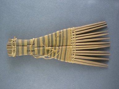 Mangbetu. <em>Hair Comb</em>. Reed Brooklyn Museum, Museum Expedition 1931, Robert B. Woodward Memorial Fund, 31.1907. Creative Commons-BY (Photo: Brooklyn Museum, CUR.31.1907_view1.jpg)
